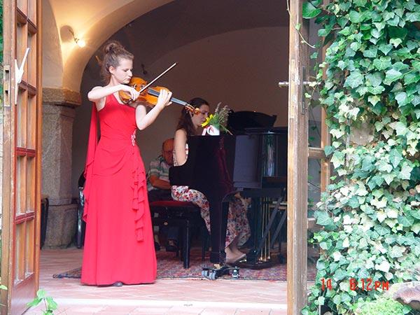 Liv Migdal, Violine, Jie Zhang, Klavier