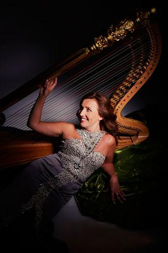 Jana Bousková Prag, Harfe