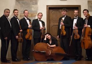 Kammerorchester Harmonia Praga mit 2 Hörnern und 2 Oboen